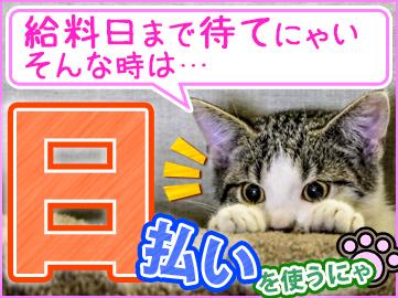 【日勤】+【送迎有】+【軽作業!】