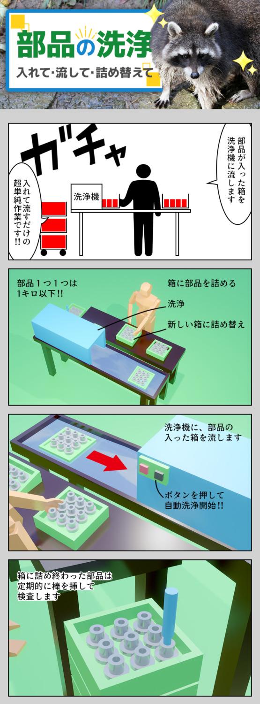部品の洗浄 愛知県豊川市の派遣社員求人