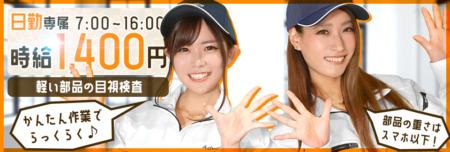 片手サイズの部品の検査 エリア:愛知県豊川市大木町