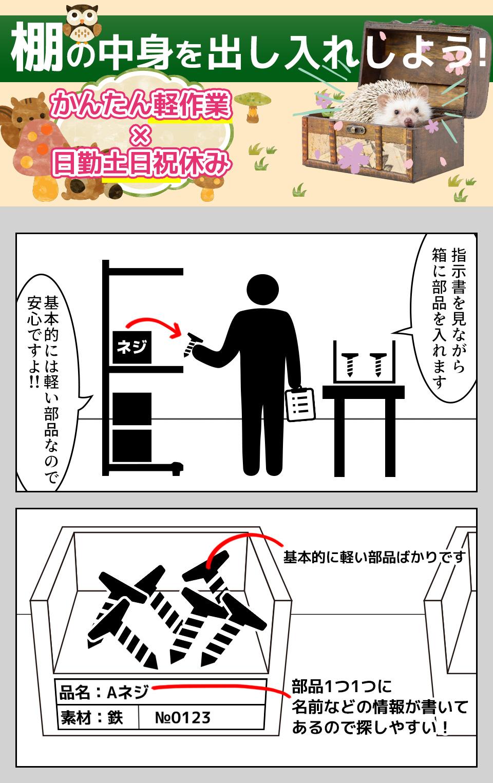 ピッキング・軽作業 石川県白山市の派遣社員求人