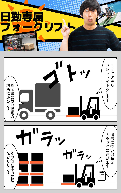 リフト入出荷 愛知県豊橋市の派遣社員求人