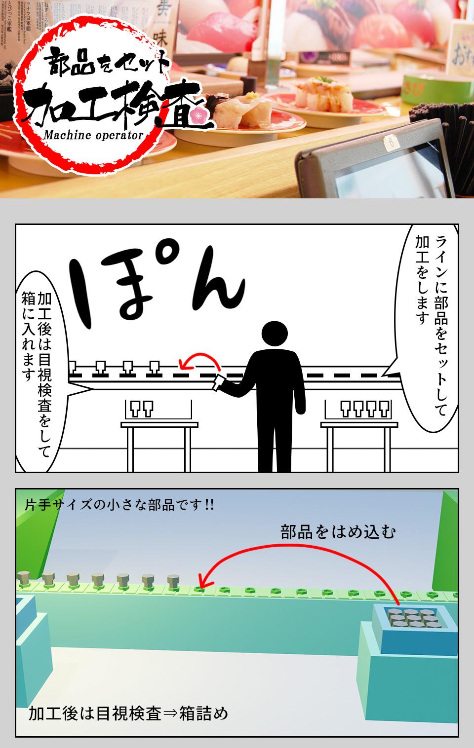 部品加工・機械オペレーター 愛知県豊橋市の派遣社員求人
