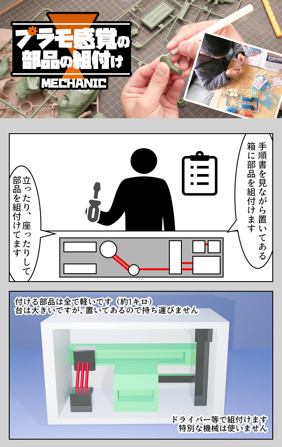 部品の組付け・検査 石川県白山市の派遣社員求人