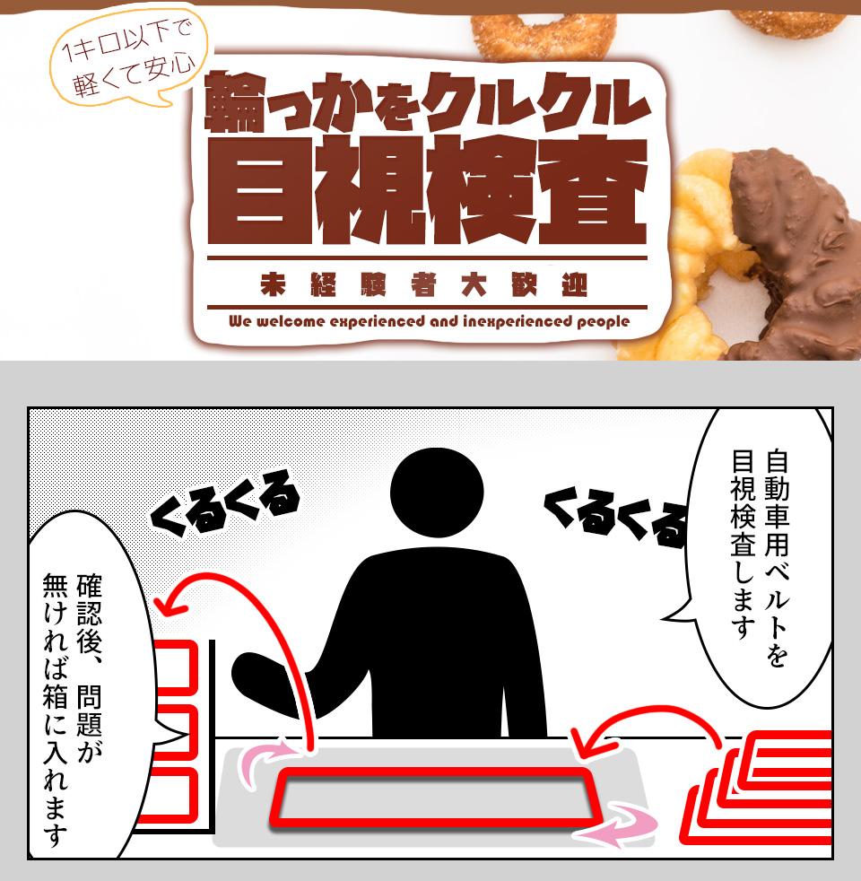 自動車部品の目視検査 愛知県豊橋市の派遣社員求人