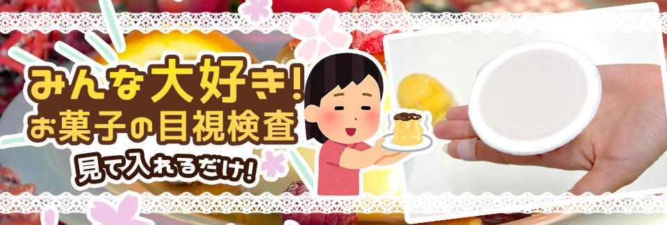 お菓子の目視検査・検品 愛知県豊橋市の派遣社員求人
