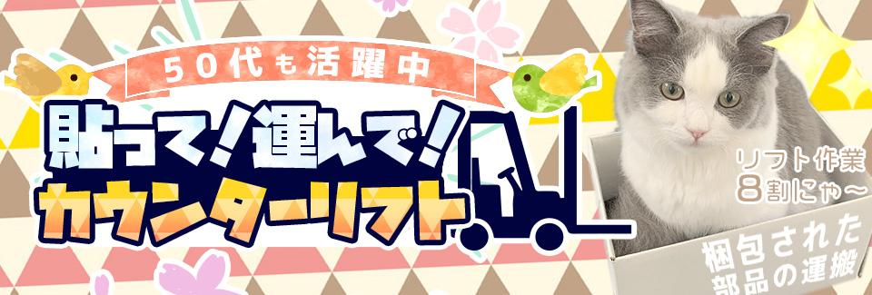 リフトでの運搬作業 愛知県豊橋市の派遣社員求人