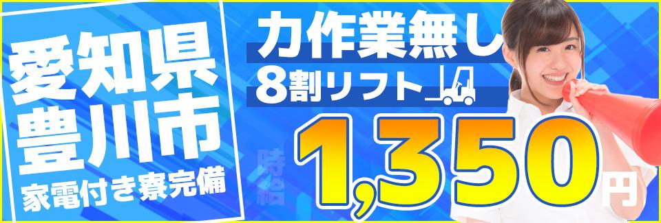リフトでのフレコンバッグの移動 愛知県豊川市の派遣社員求人