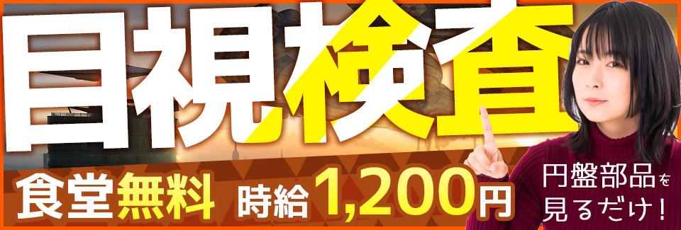 部品の検査洗浄 愛知県豊川市の派遣社員求人
