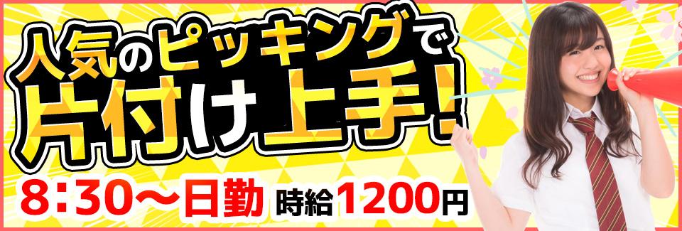 ピッキング・出荷準備作業 愛知県豊川市の派遣社員求人