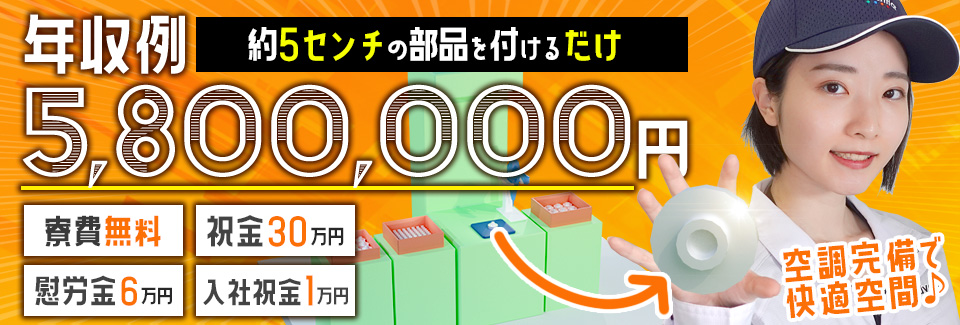 片手サイズの部品の組付け 愛知県安城市の派遣社員求人